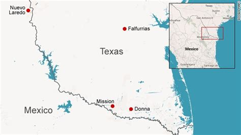 map of texas border with mexico for those living on border security is complicated subject cnn
