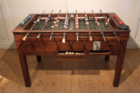 Vintage Foosball Table by Sold 1930s Vintage Foosball Table Antique Miscellaneous