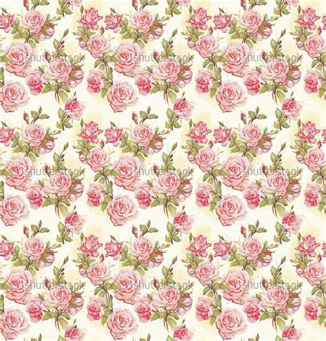rose pattern background pink rose pattern wallpapers pattern flower vector