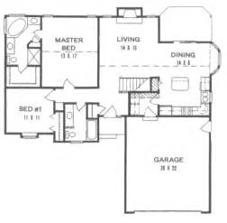 Basement Floor Plans 1200 Sq Ft Traditional Style House Plan 2 Beds 2 Baths 1200 Sq Ft