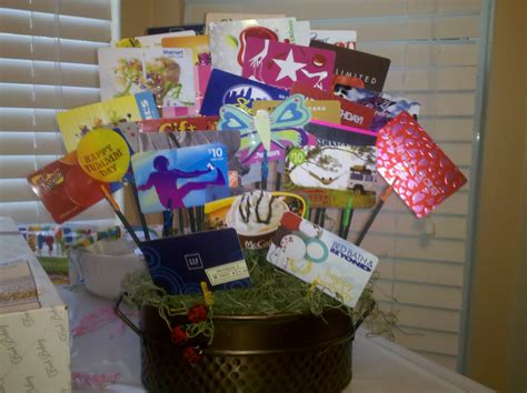 Gift Card Gift Ideas - crab feed ideas on pinterest gift card bouquet gift card basket and gift cards