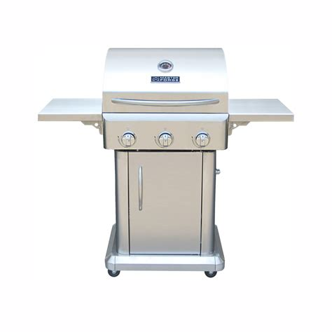 shop master forge outdoor grill 3 burner 36 000 btu liquid propane gas grill at lowes com