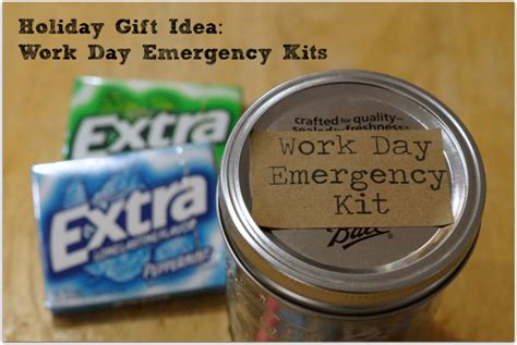 gift idea work day emergency kit extragummoments ad
