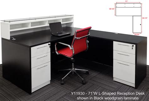 l shaped desk under 100 l shape desk 100 l shaped peninsula desk afford office