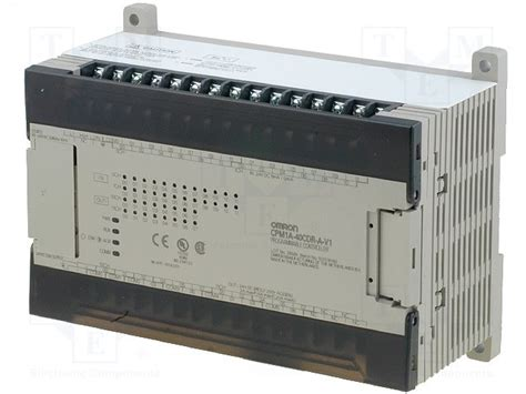 cpm1a 40cdr a v1 omron plc programmable controller tme electronic components wfs