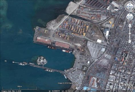 port au prince facts earthquake triggered liquefaction damage to the docks at
