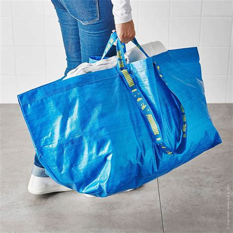 ikea shopping bags ikea responds to balenciaga s 2 145 bag that looks