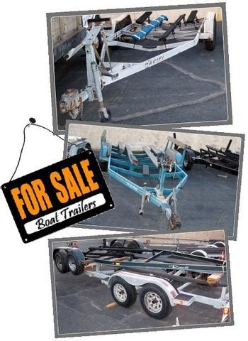 used boat trailers trading post used boat trailers pacific trailers