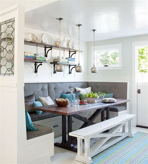 Built In Kitchen Banquette by Pretty Nooks On Nooks Breakfast Nooks And