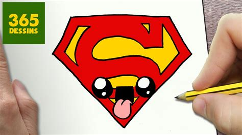 Comment Dessiner Logo Superman Kawaii 201 Tape Par 201 Tape