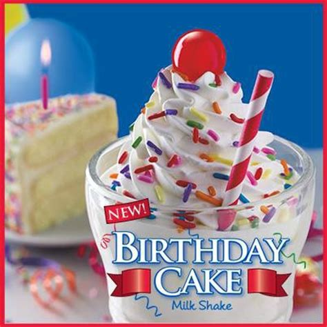 birthday cake shake sonic steak n shake half price birthday cake shake june 7