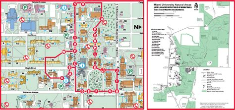 map of miami oxford oxford cus maps miami