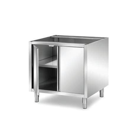 boutons et poign馥s de portes de cuisine meuble inox cuisine table murale inox avec portes meuble