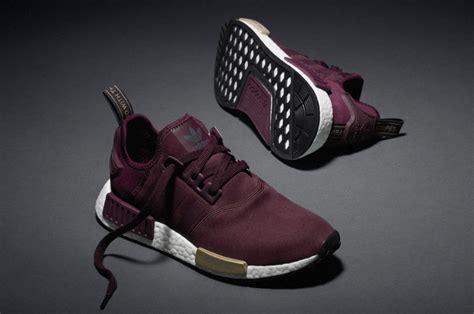 Adidas Nmd R1 Suede Burgundymaroon 1 adidas nmd suede maroon