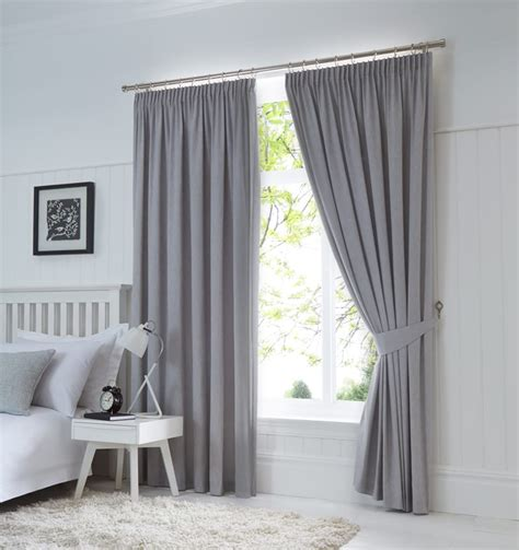 curtain linings 90 x 90 dijon ready made blackout pencil pleat curtains silver