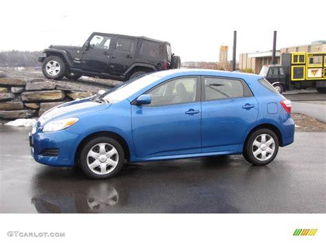 Blue Toyota Matrix 2009 Blue Streak Metallic Toyota Matrix 1 8 24901401