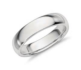 comfort fit wedding bands comfort fit wedding ring in platinum 5mm blue nile
