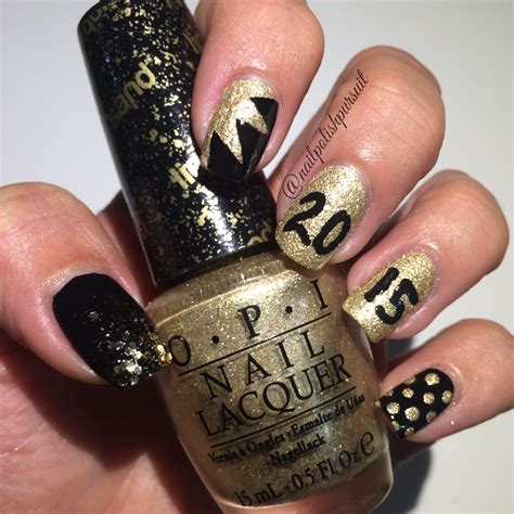 nail colour for new year new year s nails opi honey avon dazzlers