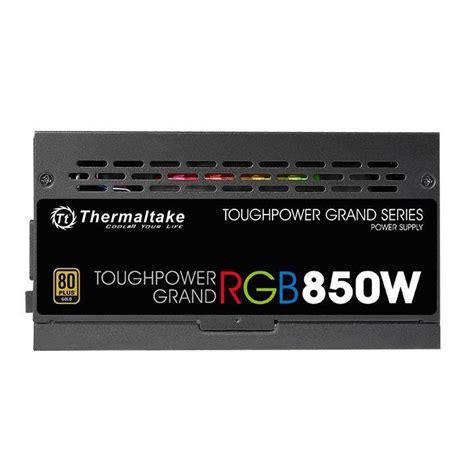 Thermaltake Toughpower Grand Rgb 850w 80 Gold thermaltake toughpower grand 850w rgb 80 plus gold modular