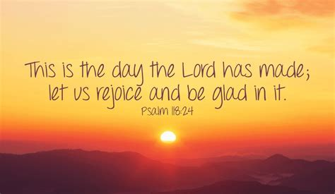 let s rejoice at this wonderful day god has given us