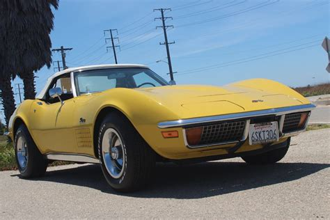 vintage corvette stingray 1972 corvette stingray vintage road racecar