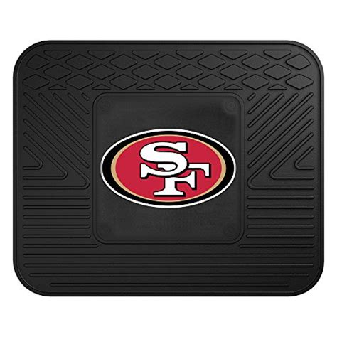 49ers seat covers and floor mats free shipping fanmats nfl san francisco 49ers vinyl heavy