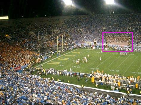 Section One Football by If Cal Band Wants To Play During Football Move From
