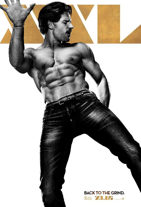joe manganiello is big dick check out donald glover poster for magic mike xxl