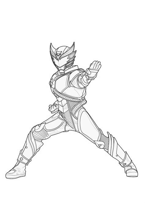 kamen rider decade free coloring pages