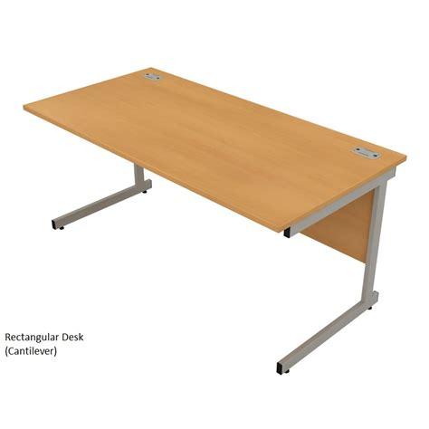 Cantilever Desk satellite cantilever rectangular desks ese direct