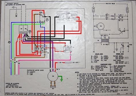 9 best images of heat air handler diagram heat