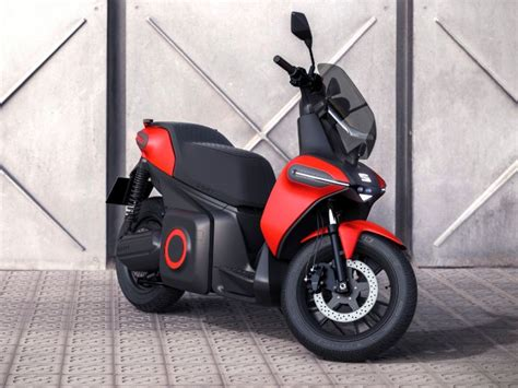 seat  scooter concept unveiled  range  km