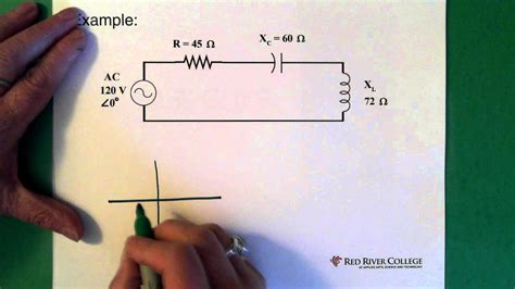 solving electrical circuits complex numbers ac circuit application