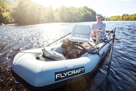 flycraft boats review flycraft stealth fishing craft hatch magazine