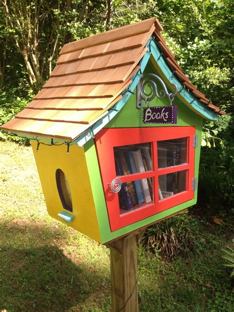 Tiny Library | 1000 images about little free library on pinterest