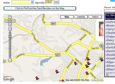 sexual predators my neighborhood amatuer how do i find out if there are offenders in my area