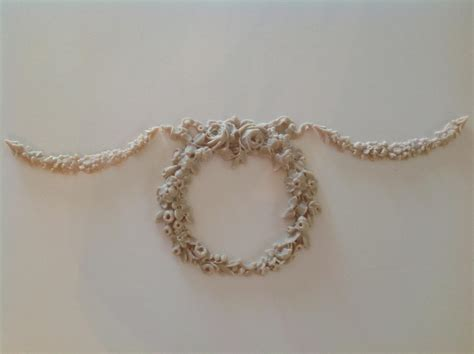 Furniture Appliques by Shabby N Chic Provincial Vintage Furniture Applique Large Wreath Ebay