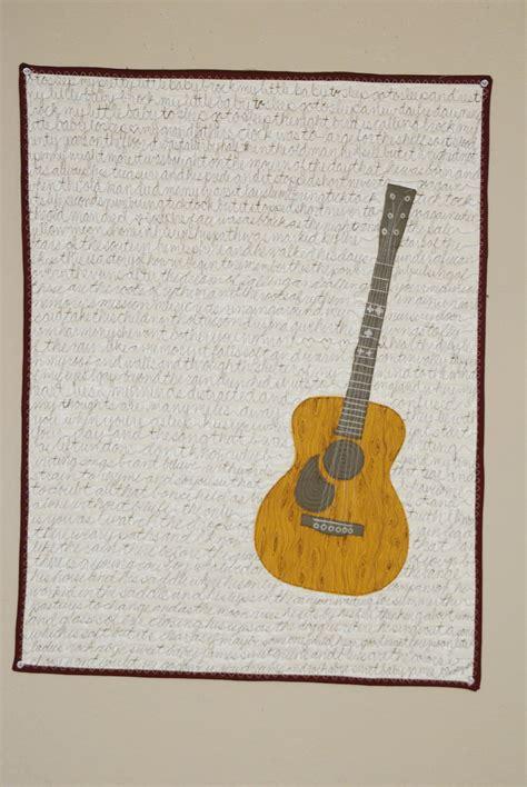 guitar applique by scrapendipity quilting pattern guitar quilt applique tutorial