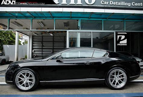 bentley custom wheels bentley continental gt custom wheels adv 1 5 0tssl 21x10 5
