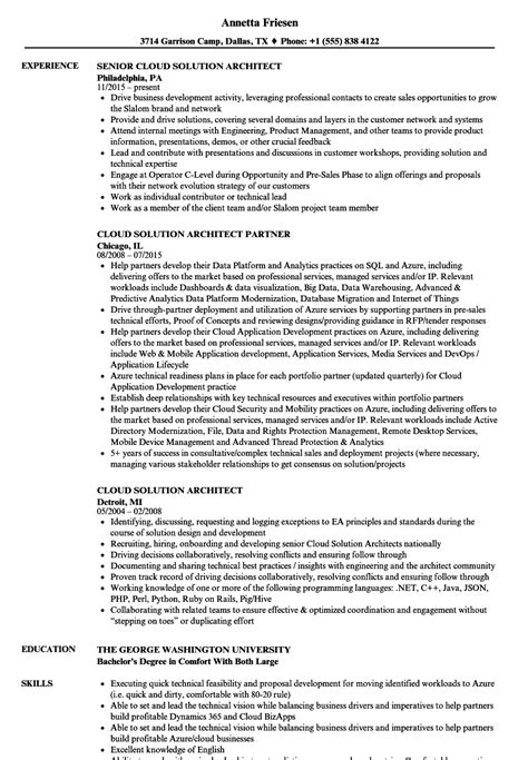 cloud computing resume objective contemporary