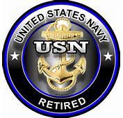 1073 ProSticker One 4 United States Navy USN Retired Decal Sticker