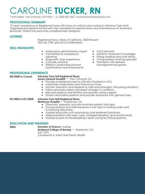 nurse resume sample jpg nursing resume