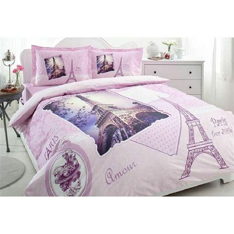 paris bedding 100 cotton 4 pcs vintage bedding duvet cover set ebay