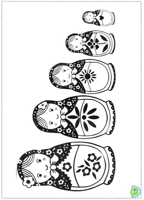 coloring pages matryoshka dolls free coloring pages of russian nesting dolls