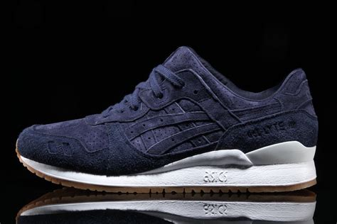 Asics Gel Lyte V Burgundy Sole Gum asics gel lyte iii suede pack with gum soles sneakers cartel