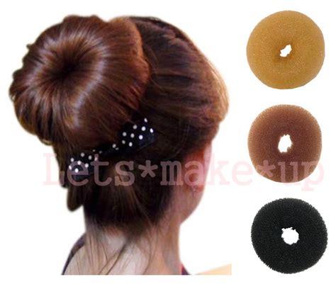 pics of donut buns sexy lady girls popular hair donut bun buns ringe black