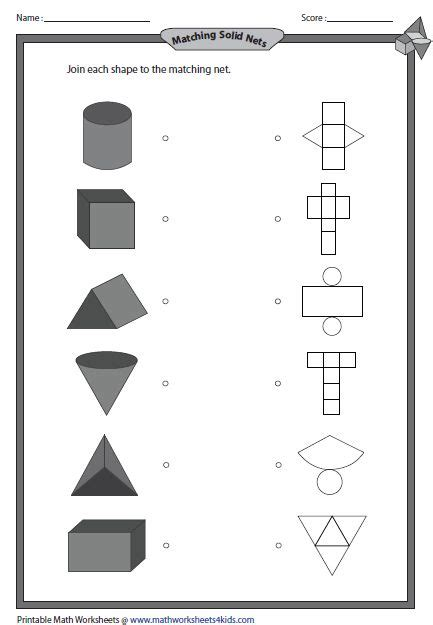 Drawing 3d Shapes Worksheet by 3d Shapes Worksheets Teaching Geometry 3d