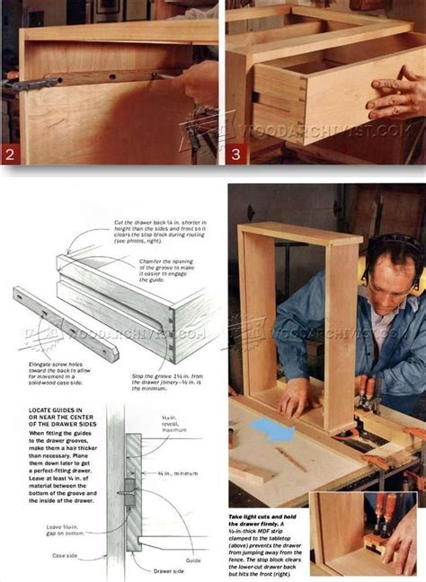 Drawer Construction Methods by 17 Best Images About Drawer Construction On