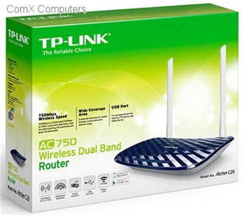 Tp Link Archer C20 Ac750 Wireless Dual Band Router New specification sheet tl archerc20 tp link archer c20 ac750 dual band wireless router