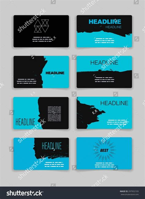 Business Card Ad Template by Business Card Template Abstract Vector Template Stock